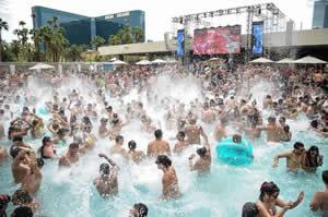 Pool Party en Las Vegas MGM