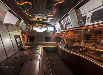 Lincoln Town Car limousine (white) imagen 3