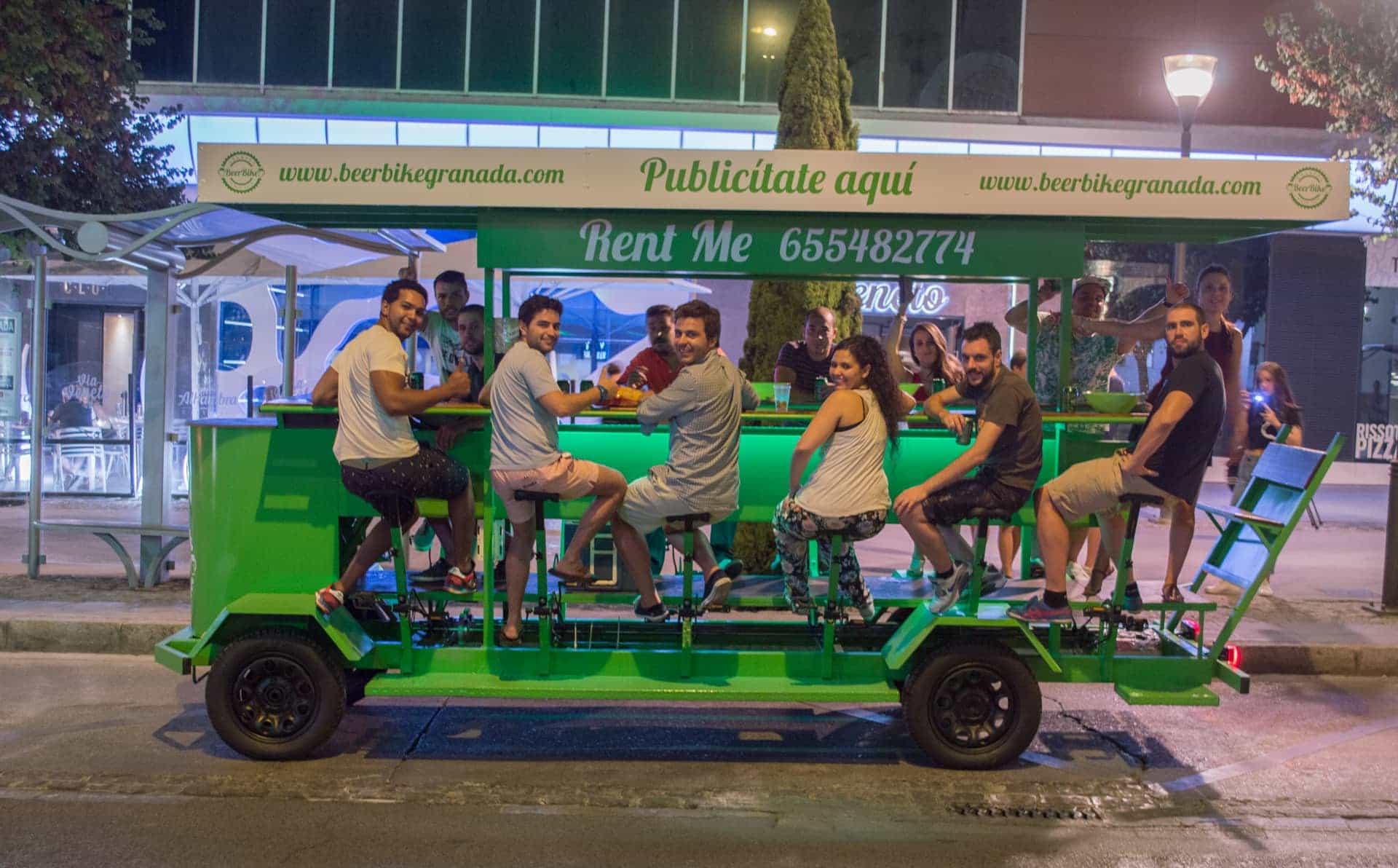 BeerBike Granada imagen 1