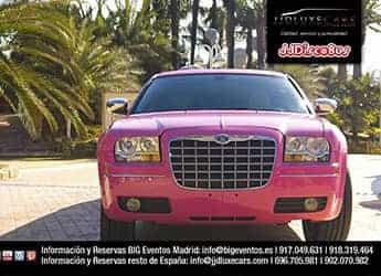 Limusina Chrysler Rosa imagen 2