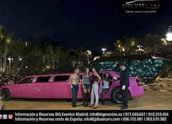 Limusina Chrysler Rosa imagen 6