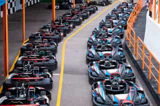 Carrera de Karts estilo F1  imagen 1