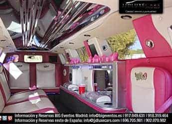 Limusina Chrysler Rosa imagen 4