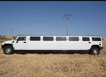 Limusina Hummer Blanca imagen 3