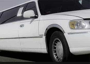 FORD LINCOLN TOWN CAR BLANCA imagen 1