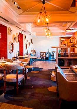 Restaurante en la Plaza de Oriente