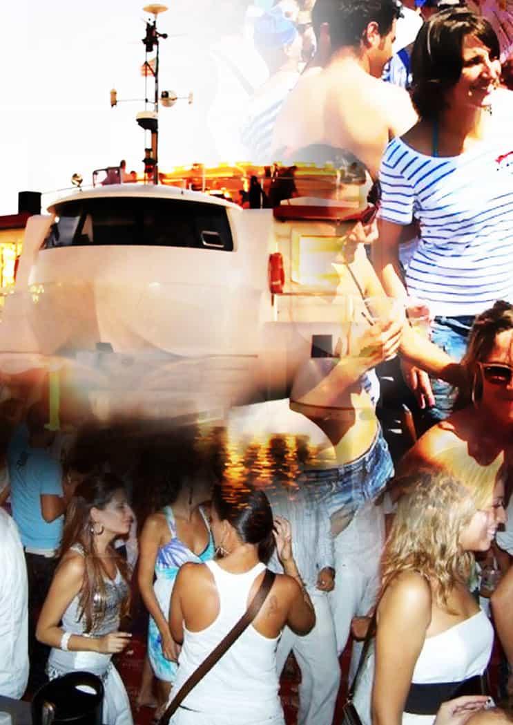 Fiestas en Barco en Valencia