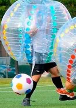 imagen destacado actividad - Bubble Soccer