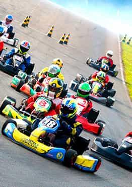Carrera de Karts estilo F1