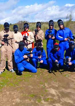 Paintball + Capea + Cena en Navalcarnero