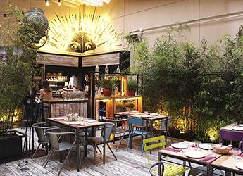 Restaurantes y bares con encanto en madrid despedidas for Restaurantes con terraza madrid