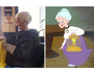 abuela looney tunes