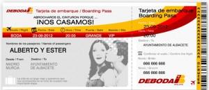tarjeta embarque