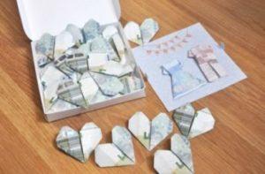 corazones dinero