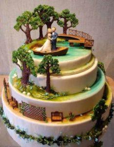 tarta de naturaleza