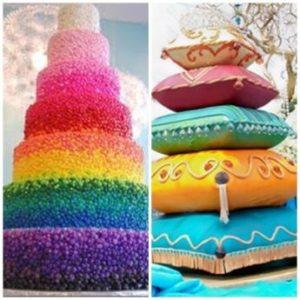 tartas rainbow
