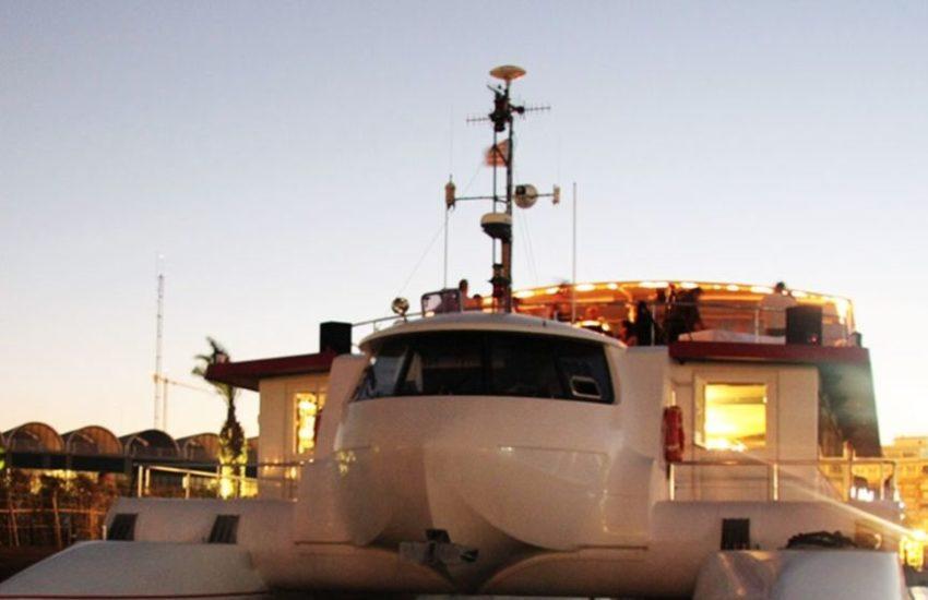 barco para despedidas