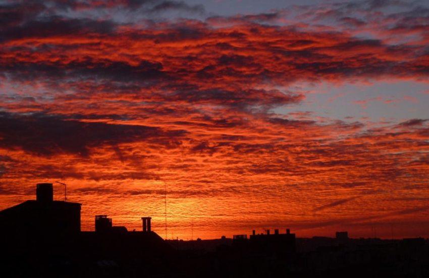 puestas de sol en Madrid
