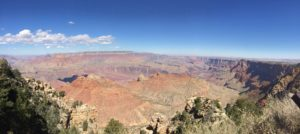 Vista del gran cañón