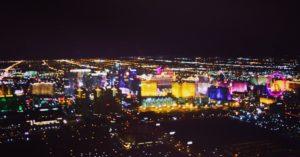 vista desde el avión de Las Vegas