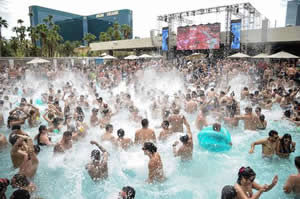 Pool Party en Las Vegas MGM