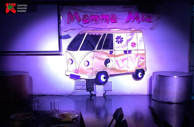 restaurante temático Mamma mia
