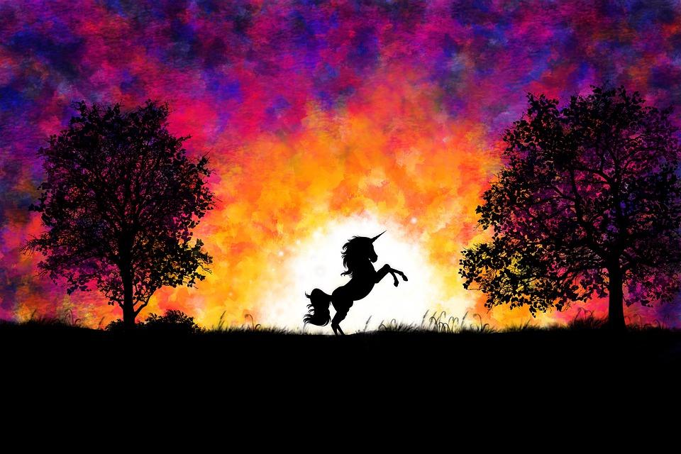 unicornio para despedida