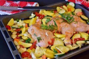 pollo receta saludable cocinar