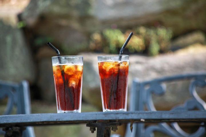 bebidas refrescantes te
