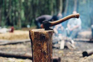 las dos actividades tiro con hacha