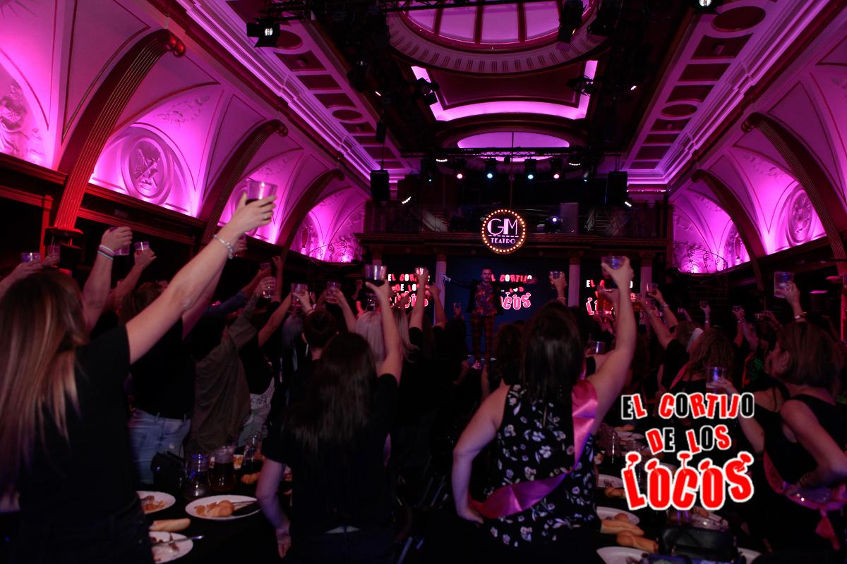 restaurante con show erótico para despedidas en Madrid