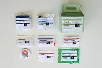 kit medico para despedidas 1
